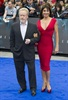 British director Ridley Scott arrives with Costa Rican actress Giannina Facio. Prometheus is a loose prequel to Ridley's Alien films.