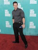 A very buff-looking Mark Wahlberg brought a bottle of water along as his date.