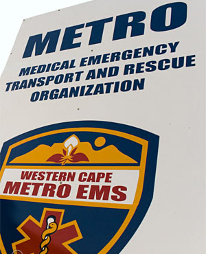 Cape Town EMS. (Supplied)