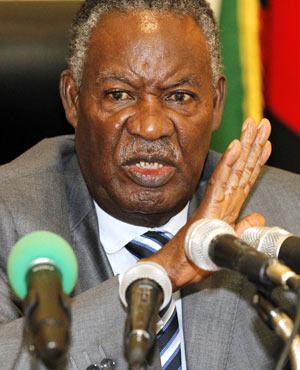 Zambian President Michael Sata. (Picture: AFP)