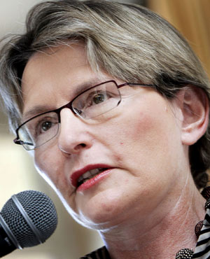 DA leader Helen Zille. (File, AFP)