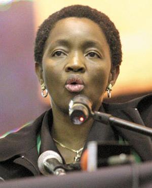 Social Development Minister Bathabile Dlamini (File, Beeld)