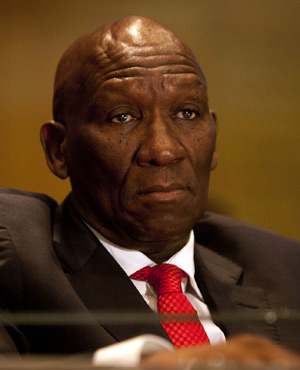 President Jacob has fired Bheki Cele as national police chief. (File, Sapa)