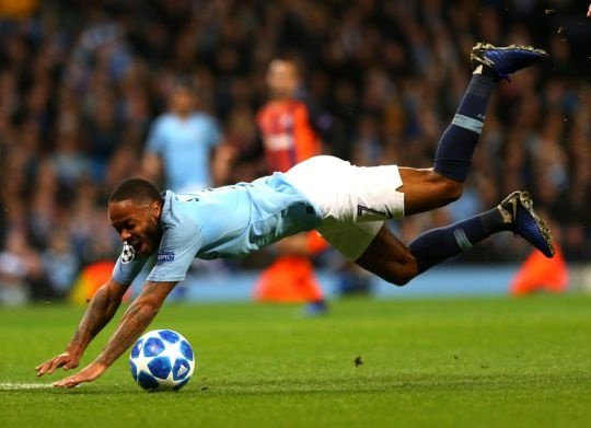 raheem sterling,penalty