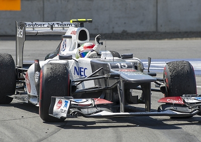 <b>BEST CAR ON THE GRID?:</b> Sauber has proved it can take on top teams in 2012 though the team has missed many opportunities to score points.
