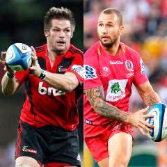 Richie McCaw and Quade Cooper (Getty)