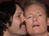Conan O'Brien and Paul Rudd