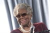 """Oh god. I was about seventy."" Author and poet Maya Angelou, now 84, reveals to Chris Rock the first time she ever had her hair relaxed."