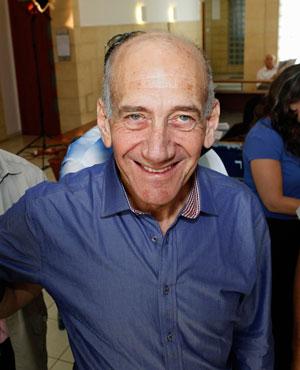 Ehud Olmert. (File, AP)