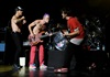 Chad from the RHCP tweeted on Monday that the band's world tour would come to Africa. No other details have been released yet, but here's hoping! (Photo: Getty Images)