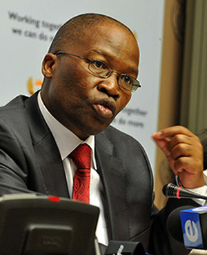 Correctional Services Minister Sbu Ndebele (Picture: GCIS)