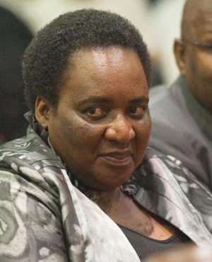 Labour Minister Mildred Oliphant (Picture: Beeld)
