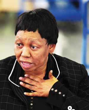 Basic Education Minister Angie Motshekga (File, City Press)