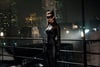 Anna Hathaway plays perhaps the most exciting new character in the movie, a sexy and acrobatic cat burglar who is drawn into Gotham - and Batman's - war against Bane.