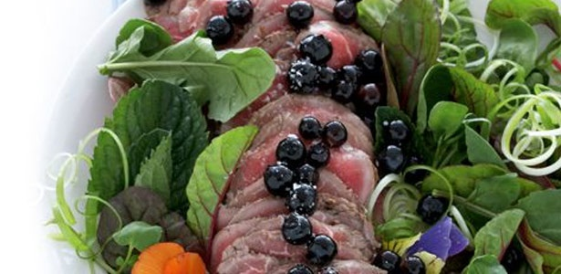 fillet,blueberry,salad