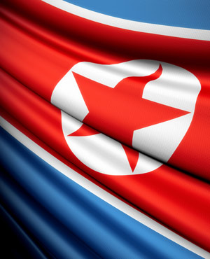 North Korea flag (Picture: <a href=\\\\\\\\http://www.shutterstock.com\\\\\\\\>Shutterstock</a>)