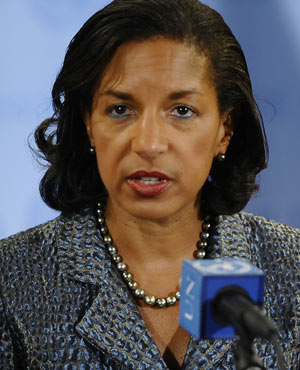 Susan Rice. (File, AFP)