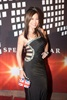 Jen Su turned heads on the red carpet with her figure-hugging black dress.