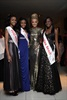 YOU Miss Teen finalists, Refilwe Mothei, Cindy Makita and Mosidi Mothei in Hip Hop dresses, available from ZANDO, with Miss South Africa, Melinda Bam.
