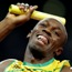 All the pictures from Jamaica's record-breaking run in the 4x100m relay at the Olympics stadium, as Usain Bolt won his third gold medal at the London Olympics.