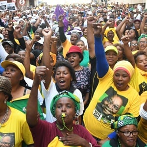 ANC supporters. (Brenton Geach, Gallo Images, file)