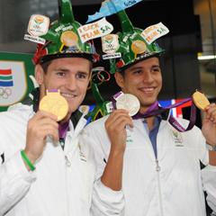 Cameron van der Burgh and Chad Le Clos (Gallo)