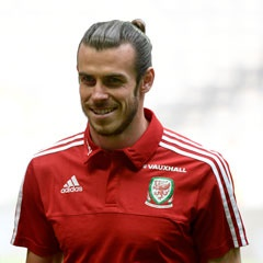 Gareth Bale for Wales (Getty Images)