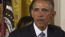 WATCH: Barack Obama cries over gun violence deaths