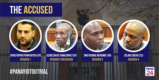 The accused in the Panayiotou case