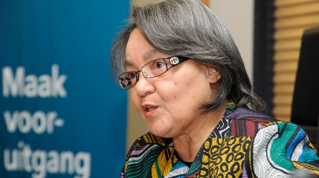 Executive Mayor of Cape Town Patricia de Lille speaks in a media briefing at Ray Alexander boardroom, Civic Centre in Cape Town. (Ashley Vlotman, Gallo Images, file)