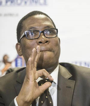 Gauteng MEC for Education Panyaza Lesufi. Picture: Cornel van Heerden