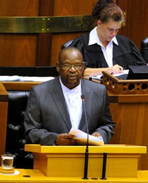 Mathole Motshekga has been replaced as ANC chief whip. (Picture: GCIS)