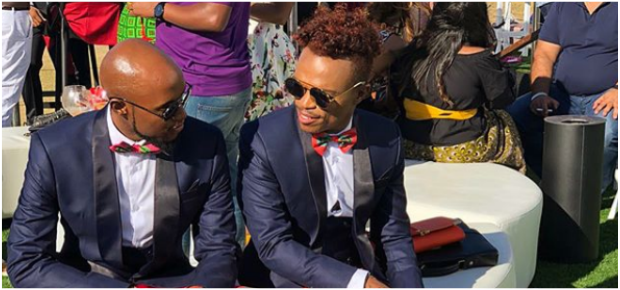 PICS: Somizi finally shows of his mystery man | Channel24