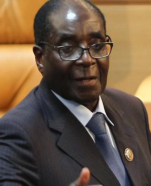 Zimbabwean President Robert Mugabe. (Picture: AFP)