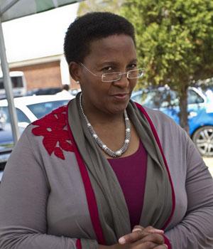 Gauteng community safety MEC Faith Mazibuko (Nico van Heerden, Beeld)
