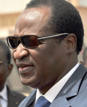 Ousted Burkina Faso president Blaise Compaore. (File, AFP)