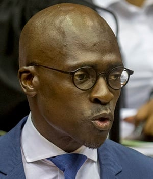 Finance Minister Malusi Gigaba did not underplay t