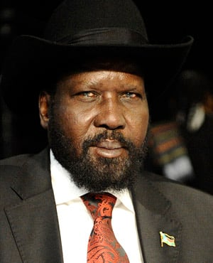South Sudan President Salva Kiir. (File, AFP)