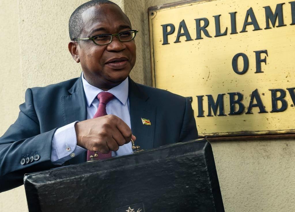 Zimbabwean Finance Minister Mthuli Ncube.
