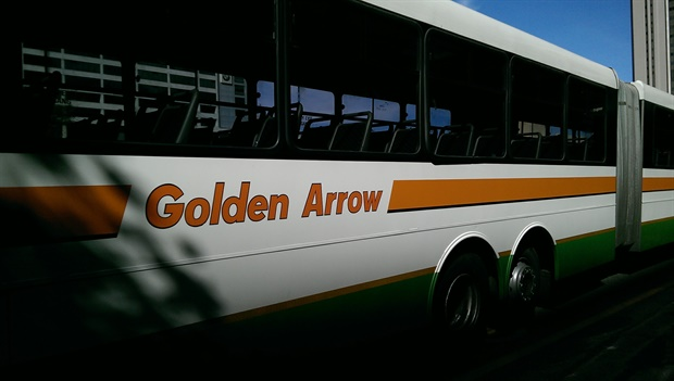 Golden Arrow has suspended bus services because of the strike and instituted a company-wide lockout<br />