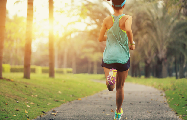 runner, woman, outdoors, exercise, fitness