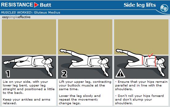side leg lifts