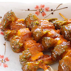 sweet and sour skewers