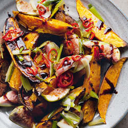 sweet potato and fig salad