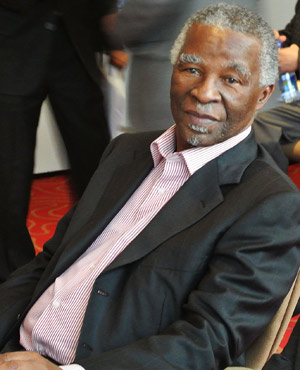 Thabo Mbeki (Picture: AFP)