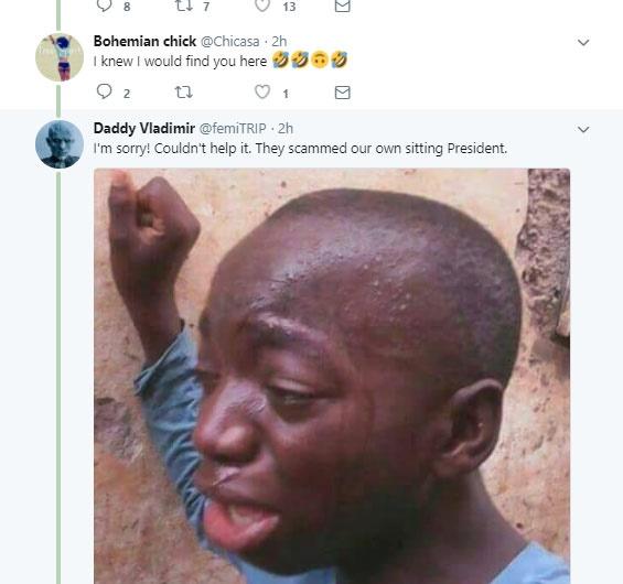 buhari award saga, nigerians react
