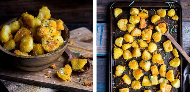 potato, polenta,side dishes, sides, roast potatoes