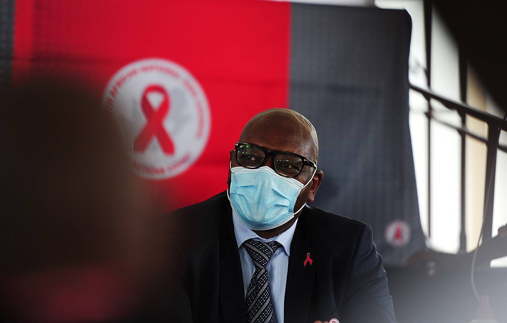 A deep dive into the TB and HIV numbers in Gauteng and what non-governmental organisations, GHoD and community healthcare workers on the ground are doing to get these services back on track. Photo of David Makhura at World AIDS Day event. Picture: Denvor De Wee/Spotlight