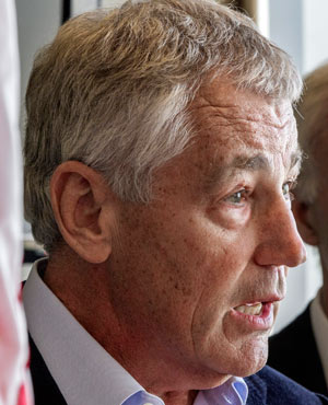 Chuck Hagel (Picture: AP)
