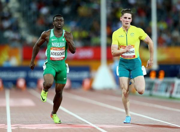 Enoch Adegoke-Team Nigeria